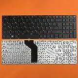 kompatibel für ACER Aspire 5 (A515-51G-8107) Tastatur - Farbe: Schwarz - ohne Rahmen Deutsches Tastaturlayout