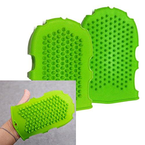 高品質のシリコーンマッサージグローブ / High Quality Silicone Massage Glove/ セルライト除去 / cellulite Remover / 増加血液循環 / increase Blood Circulation / ブラ