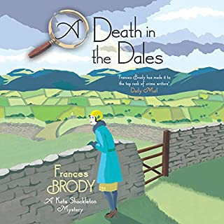 A Death in the Dales audiobook cover art