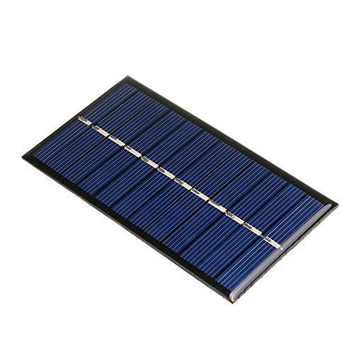 LTH-GD Relais 60 * 110mm Polycrystallin Mini Panneau Solaire Solar Board pour l'apprentissage de DIY 6V 1W commutateur de Relais WiFi