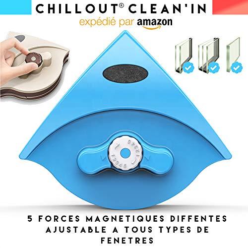 ChillOut Clean'in lave vitre magnetique double vitrage raclette vitre...