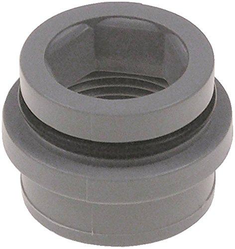 Jemi - Casquillo para lavavajillas GS-19, GS-18, GS-6AF, GS-6, GS-7, GS-20 para brazo con junta (diámetro de 37 mm, altura 27 mm)