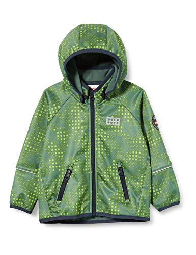 Lego Wear Jungen Lwsam Softshelljacke Jacke, Grün (Dark Green 880), (Herstellergröße: 80)