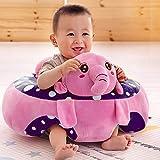 Samaaya Baby Soft Plush Cushion Cotton Baby Sofa Seat Infant Safety Car Chair
