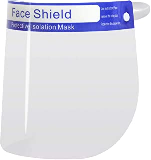 Gezichtsbescherming vizier oogbescherming spuugbescherming gezichtsscherm (5 stuks)