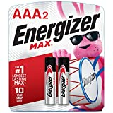 Energizer AAA Batteries (2 Count), Triple A Max Alkaline Battery