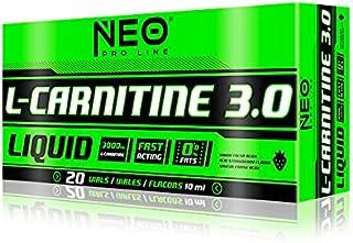 comprar comparacion L-CARNITINE 3.0 LIMA-LIMON 20 VIALES-10 ml - Suplementos Alimentación y Suplementos Deportivos – NEO PRO-LINE