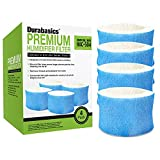 Durabasics 4 Pack of Premium Humidifier Filters - Compatible with Honeywell Humidifier Filter HAC-504, HAC-504AW & Honeywell Filter A - Replacement for Honeywell Humidifier Filters Replacement Filters