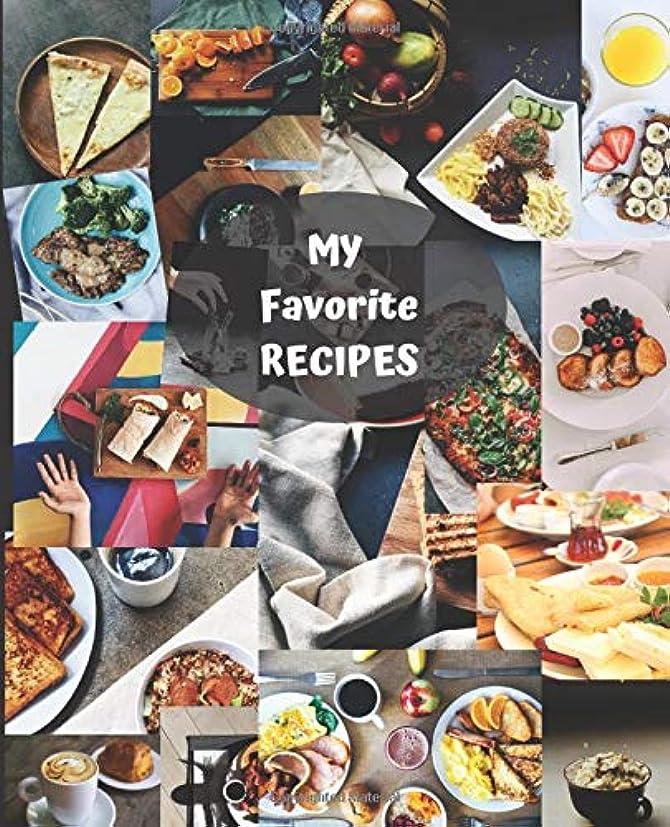 規模香水スカーフMy Favorite Recipes: Blank Cookbook - Your Recipes - Cooking