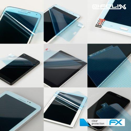 atFoliX Schutzfolie kompatibel mit Panasonic Lumix DMC-TZ81 Folie, ultraklare FX Displayschutzfolie (3X)