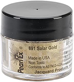 Jacquard Products Pearl Ex Powdered Pigments, 3g, Solar Gold