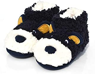 Bear Animal Bootie Slippers for Toddler/Little Kid Non-Slip House Shoes