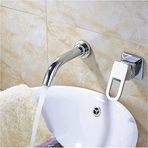 Grifo de grifo de cromo pulido grifo fregadero monomando grifo de baño grifo mezclador