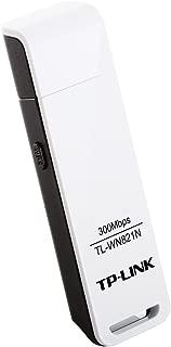 TP-Link TL-WN821N IEEE 802.11n (draft) USB - Wi-Fi Adapter. WIRELESS USB ADAPTER 300M 802.11N & 802.11B WL-AP. 300 Mbps