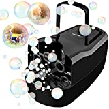 TOLOCO Bubble Machine,Automatic Bubble Blower Portable Bubble...