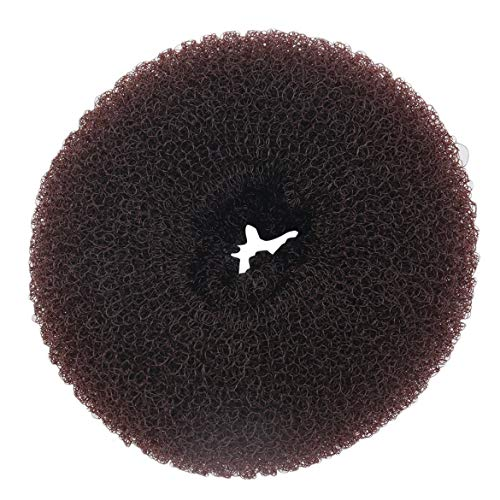 FOLWME Women Girls Sponge Hair Bun Maker Ring Donut Shape Hairband Styler Tool Magic Hair Styling Bun Maker Hair Band Accessories