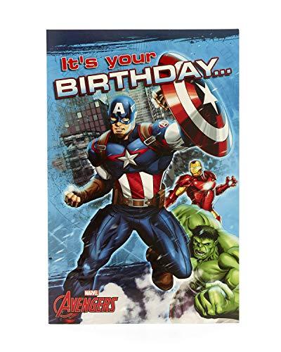 Geburtstagskarte für Jungen – Marvel Geburtstagskarte – Geburtstagskarte für Jungen