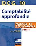 DCG 10 - Comptabilité approfondie, Manuel et applications