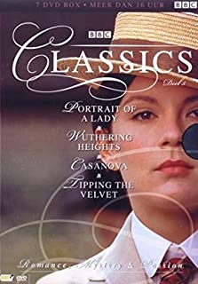 BBC Classics Collection - 4 Mini-Series (Vol. 5) - 7-DVD Box Set ( The Portrait of a Lady / Wuthering Heights / Casanova / Tipping the Velvet ) [ NON-USA FORMAT, PAL, Reg.2 Import - Netherlands ]