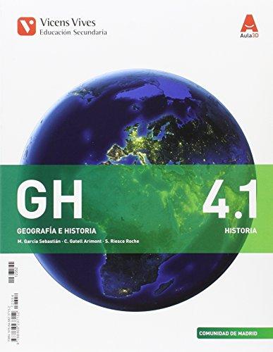 GH 4, Geografía e historia, Educación Secundaria, Comunidad de Madrid....