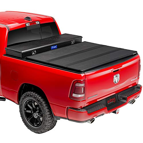 extang Solid Fold 2.0 Toolbox Hard Folding Truck Bed Tonneau Cover | 84430 | Fits 2009 - 2018, 2019/20 Classic Dodge Ram 1500/2500/3500 6' 4' Bed (76.3')