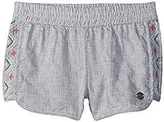 ロキシー Roxy Kids キッズ 女の子 ショーツ ハーフパンツ Deep Cobalt Wealthy and Wise Shorts [並行輸入品]