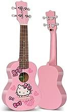 Miiliedy Talla tradicional hawaiana Serie Ukulele Hecho a mano Principiante Estudiante Adulto Práctica tocando Guitarra pequeña de 21 pulgadas con bolsa Paño de pulido Cuerdas de repuesto