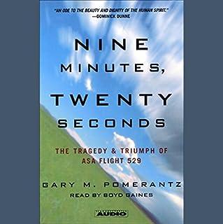 Nine Minutes, Twenty Seconds audiobook cover art