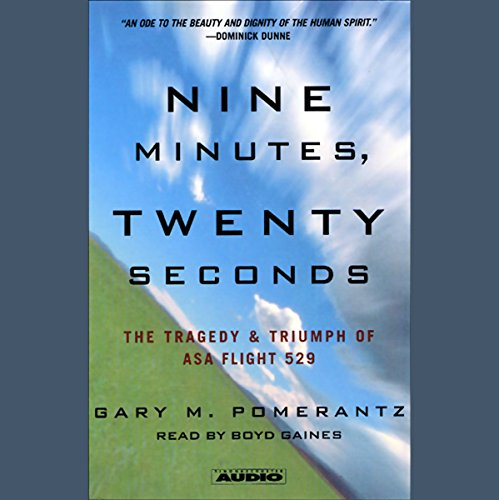 Nine Minutes, Twenty Seconds audiobook cover art