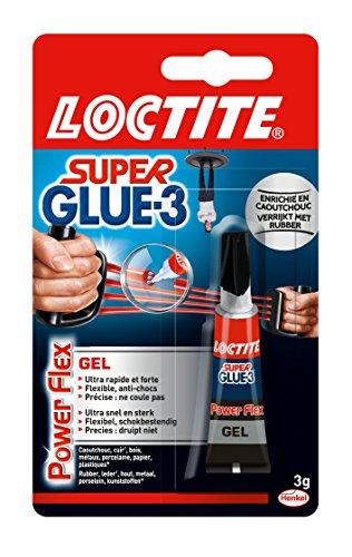 Loctite Colle forte/ Super Glue 3 - Power Flex 3 g