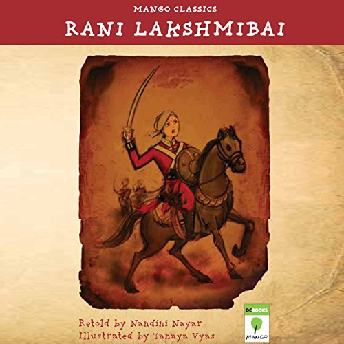 Rani Lakshmibai audiobook cover art