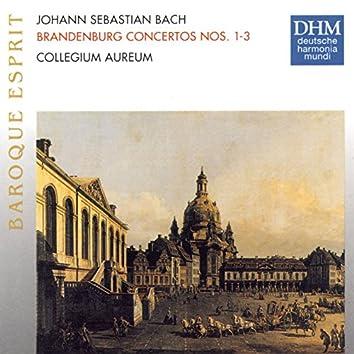 J.S. Bach: Brandenburg Concertos 1 - 3