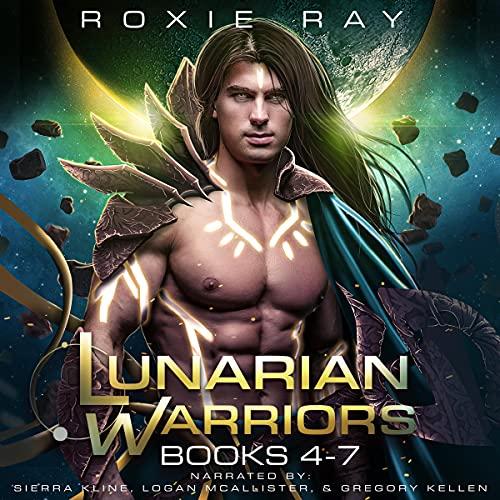 Lunarian Warriors Books 4-7 cover art