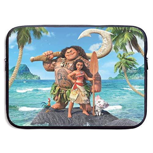 Hdadwy Cartoon Moana Laptop Sleeve Bag 15 Inch Tablet Briefcase Ultra Portable Protective, Laptop Canvas Cover MacBook Air, MacBook Pro, Notebook Computer Sleeve Case