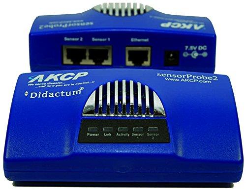 AKCP sensorProbe2 – IP basiertes Monitoring System für Temperaturüberwachung
