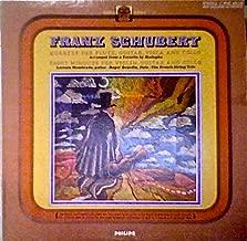 Franz Schubert: Quartet for Flute, Guitar , Viola and Cello; Eight Minuets for Violin, Guitar and Cello