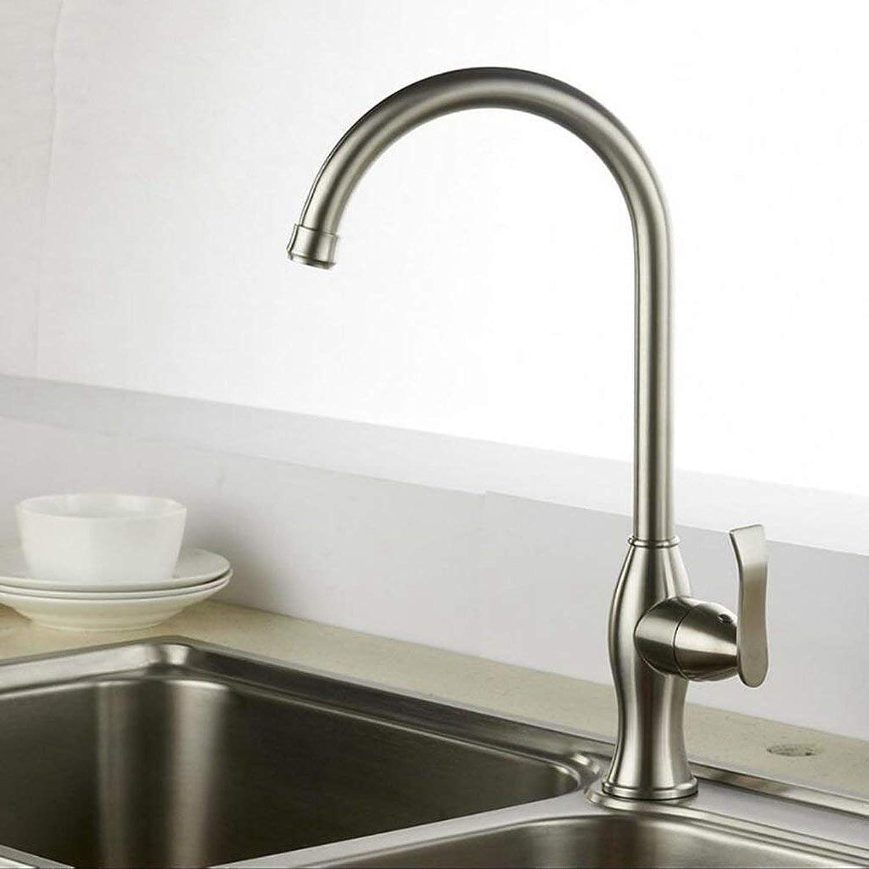 SEBAS Home Küchen-Mischbatterie-Beckenhahn aus Edelstahl 304