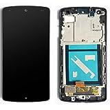 LG Optimus nexus 5 D820 LCD Pantalla Táctil Digitalizador Vidrio Completa con Marco Reemplazo y Herramientas (Negro)