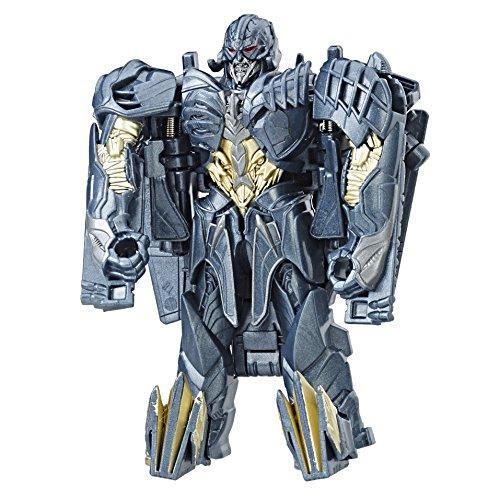 Transformers C2821ES0 The Last Knight 1-Step Turbo Changer Megatron Figur, blau