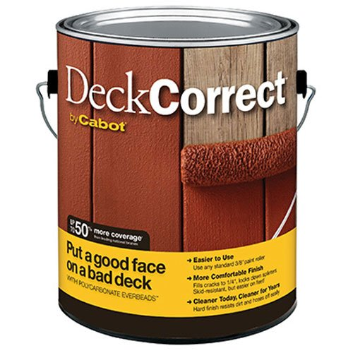 CABOT SAMUEL 25200-07 INC Deck Correct GAL Stain, 1 gal