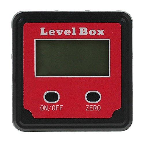 TOOGOO(R) Digital Gauge Winkelmesser Finder Klinometer schraeg Box Magnetisch Wasserdicht