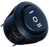 AERZETIX: Interruttore a levetta SP3T (ON)-OFF-(ON) 6A/250V 20A/12V pulsante a bilanciere switch 1 posizione C10711