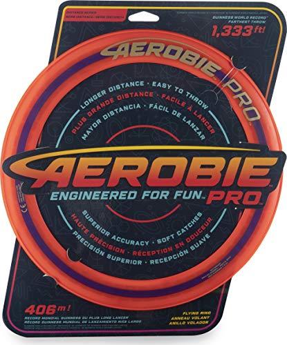 Aerobie-Pro Flying Ring-Anello di lancio con diametro 33 cm, colore: Arancione, 6046388