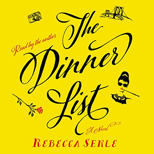The Dinner List audiobook cover art