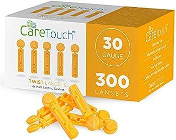 Care Touch Twist Top Lancets 30 Gauge 300 Lancets