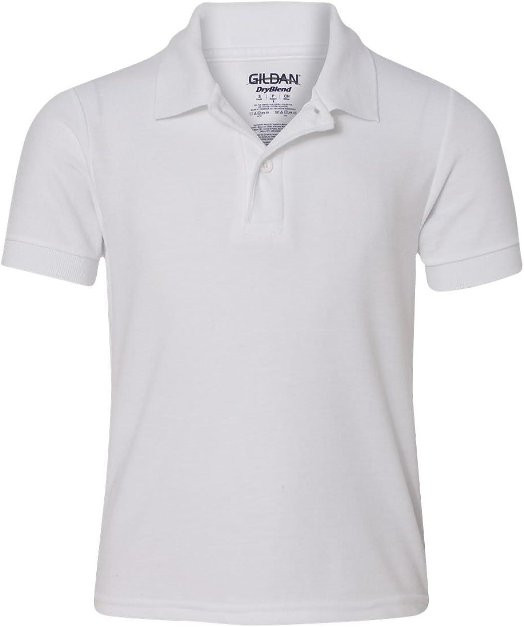 Gildan Activewear , M, White