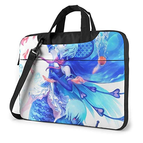 XCNGG Puella Magi Madoka Magica Fashion Shoulder Shockproof Laptop Bag Laptop Sleeve Case Ultra-Slim Laptop Computer Pouch Bag 14 inch