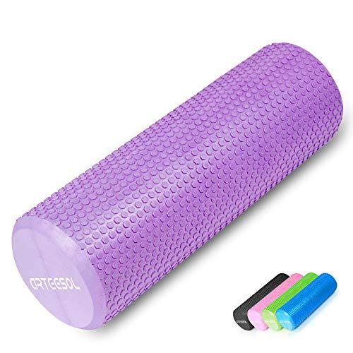 arteesol Faszienrolle, Fitness Faszienrolle 12/18/24/36 Zoll Runde Faszienrolle für Muskelmassage Pilates Stretching Balance Verringerung von Muskelschmerzen Schmerzen oder Verspannungen