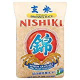 Nishiki Premium Grade Medium Grain Brown Rice, 15-Pound Bag (Pack of 2)