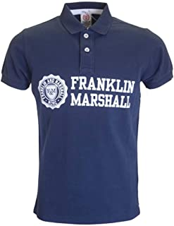 Polo Franklin Marshall Piquet Classic Azul para Hombre, Talla S, M ...